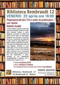 Presentazione romanzo Biblioteca Rembrandt 12